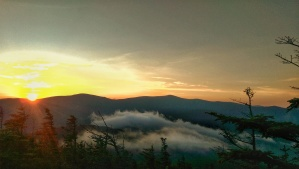 """""""How glorious a greeting the sun gives the mountains!""""  -John Muir"""